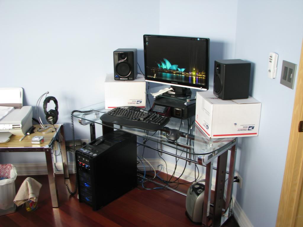 My Custom M Audio AV 40 Speaker Stands HeadFiorg