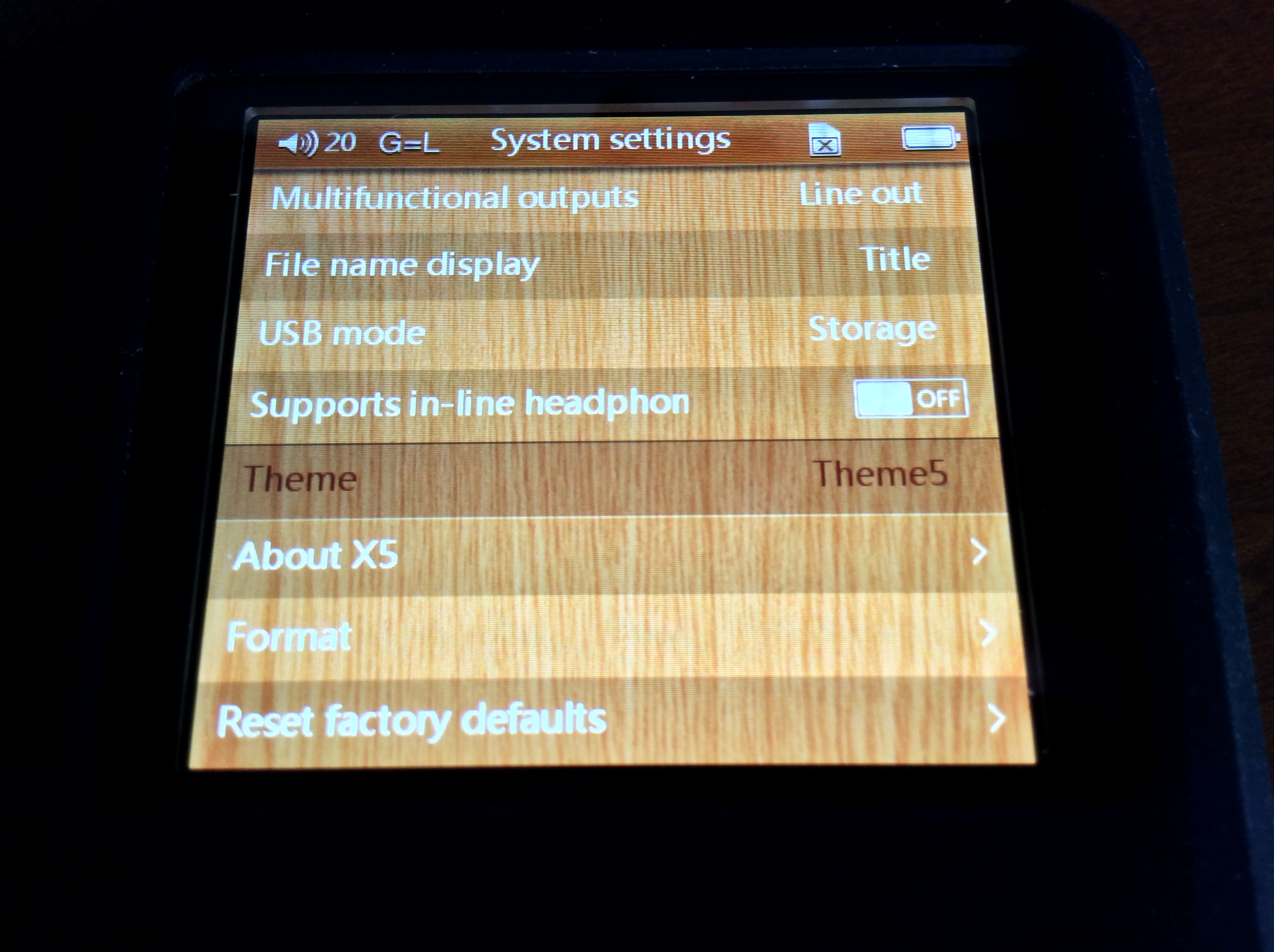 is there new firmware zx2 sony