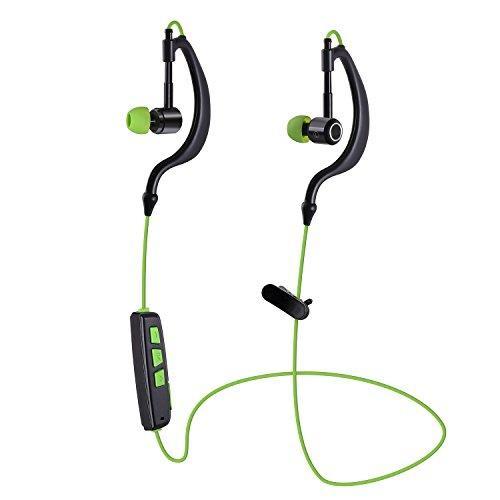 Bluetooth 4.1 Headphones, Mixcder® Basso Wireless Earphones Sport Earbuds Headsets (Bluetooth 4.1, Build-in Mic, Metal deep, CVC 6.0 Noise-Cancelling,