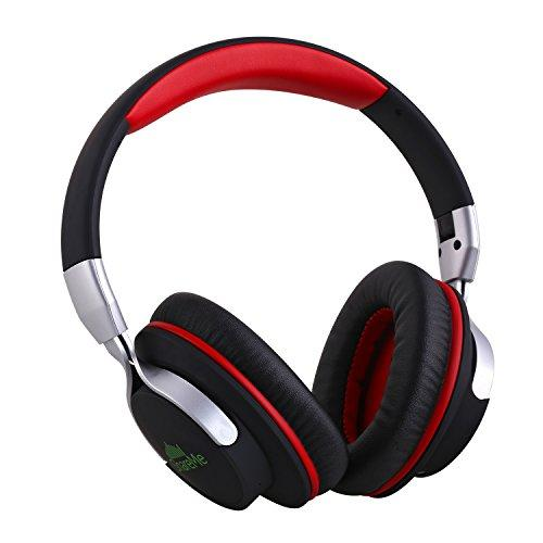 Mixcder ShareMe Wireless Bluetooth Headphones,Built in Mic for Hands-free Calling,3.5mm Audio Input,Foldable for carry,for iPhone 6s plus 6 6 plus Gal
