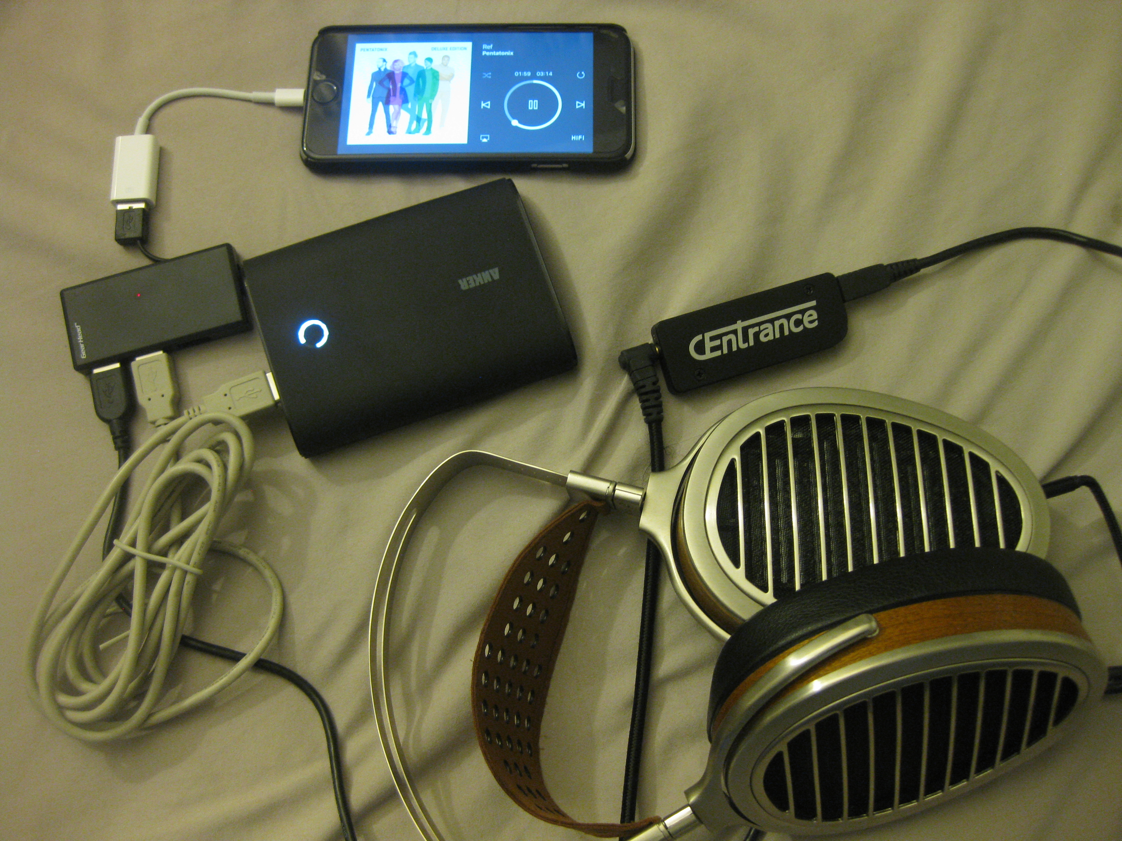Review: CEntrance DACport Slim DAC/Amp Combo