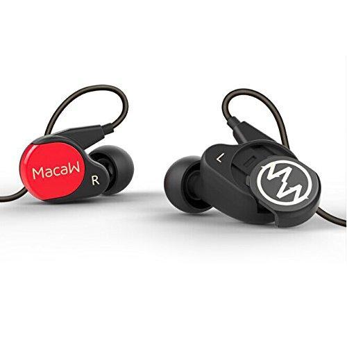 Macaw RT-10 interchangeable panel hifi earphones