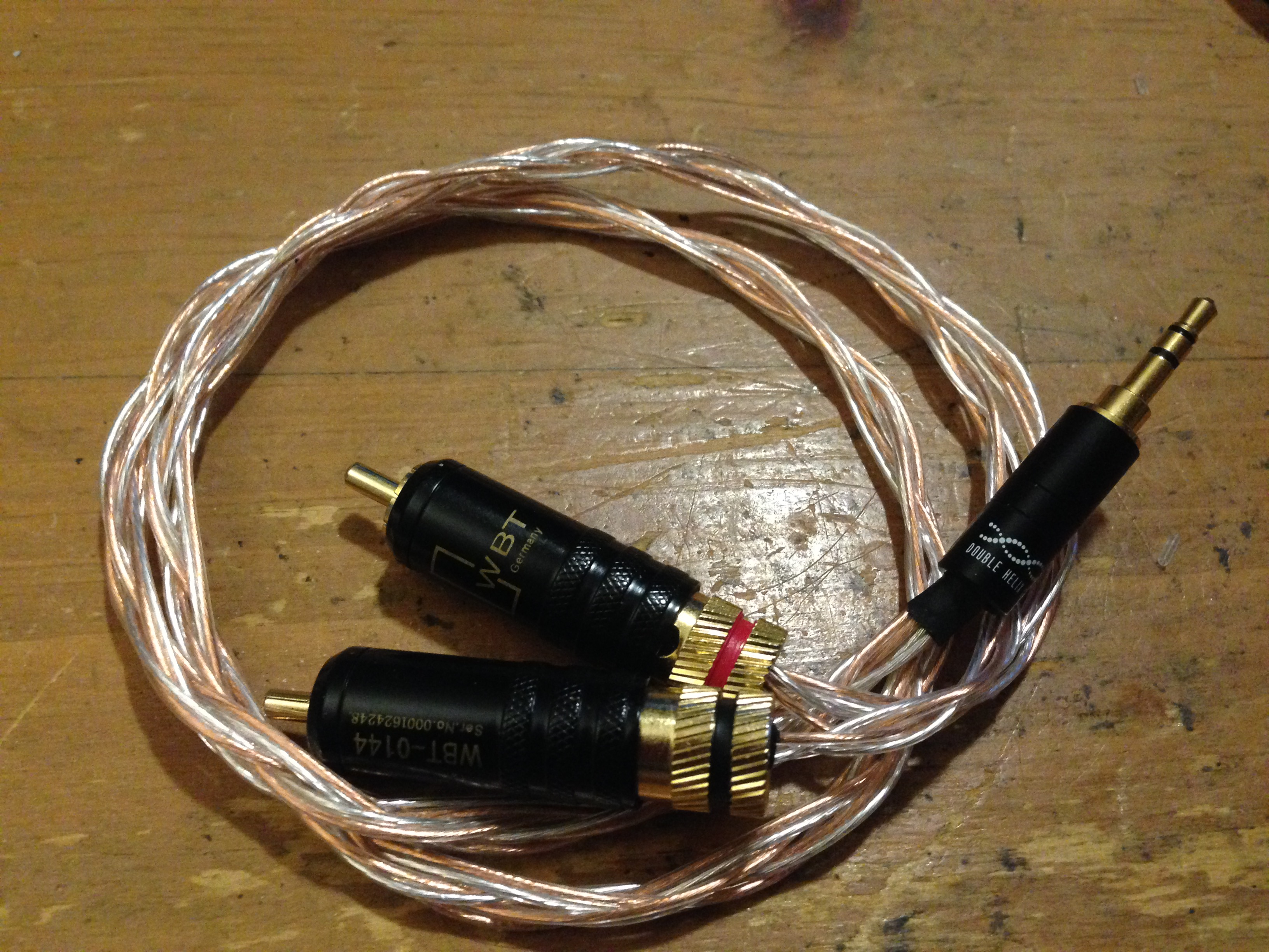 Diy Cable Questions And Comments Thread Page 299 Headphone Mogami Xlr Wiring Diagram Wbt Locking Rcas Double Helix 1 8 With 24 Awg Silver Plate Occ Copper 22 Wire Sounds Really Good Out Of The Qp1r