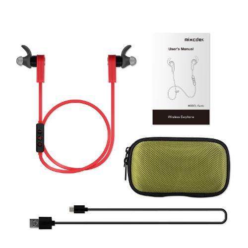 Mixcder Runto  Bluetooth In-Ear Headphones,Wireless Bluetooth 4.1 Headset Sweatproof Sport Earphones Earbuds