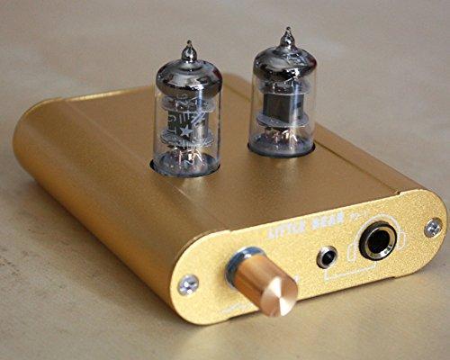 Little bear P2-1 GOLD color HiFi valve tube headphone