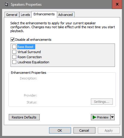 Windows 10 has better sound quality than Windows 7! (On my computer
