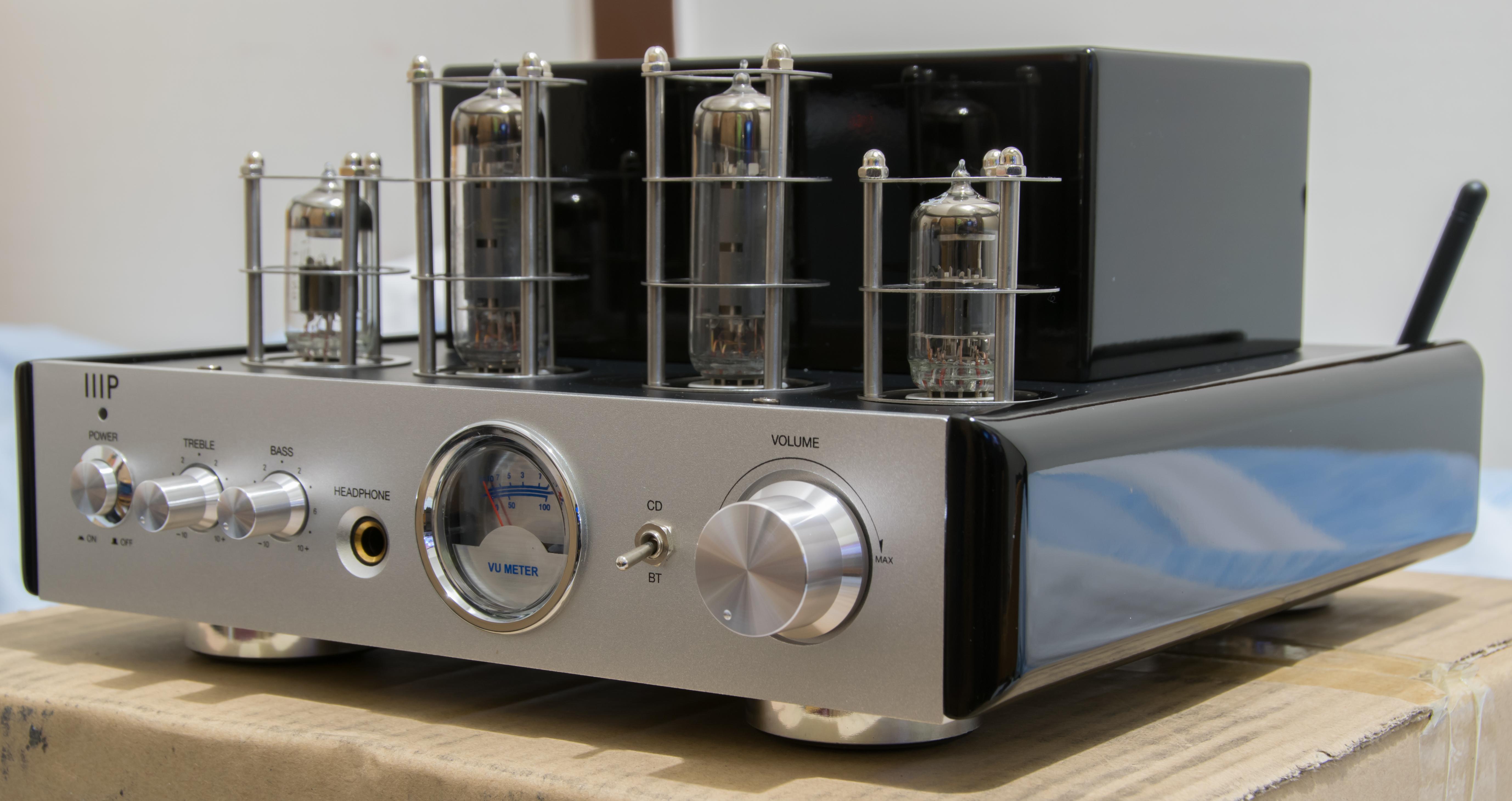 Monoprice 113194 25 Watt AB Power Amplifier Stereo Hybrid