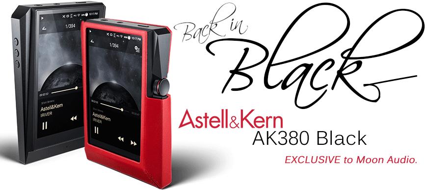 EXCLUSIVE Astell & Kern AK380 Black Digital Music & Media ...