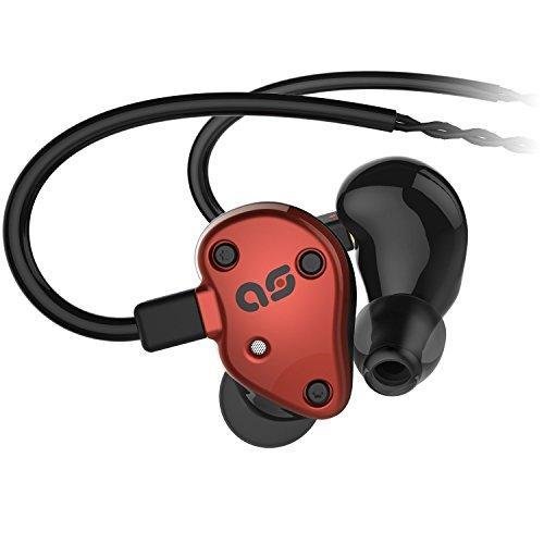 Aurisonics Forte In-ear Headphones (Garnet Red)