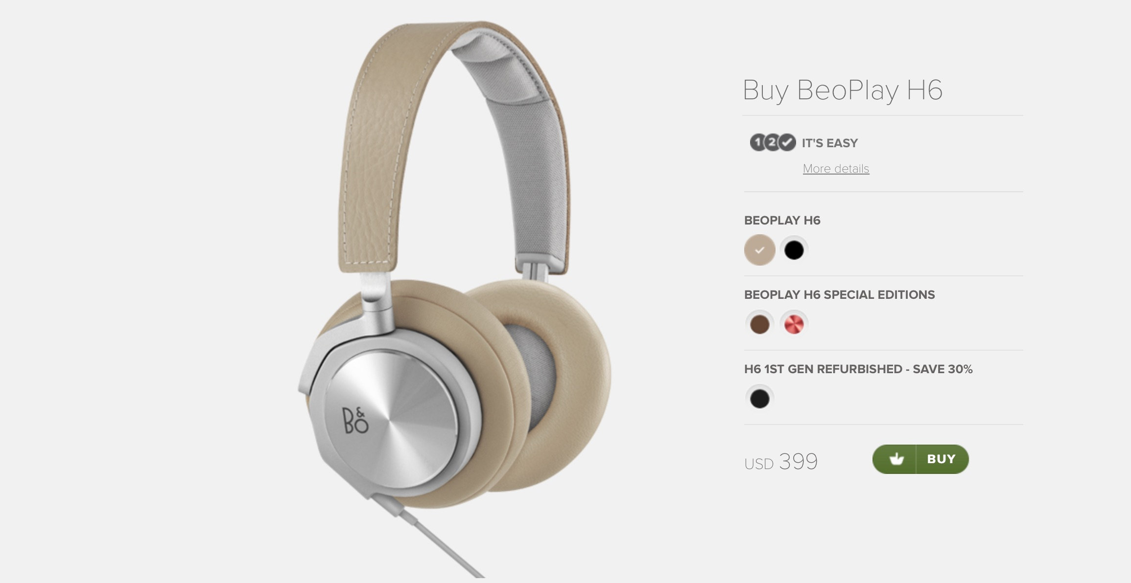 Efterstræbte Bang & Olufsen BeoPlay H6 Discussion Thread | Page 52 | Headphone OB-91