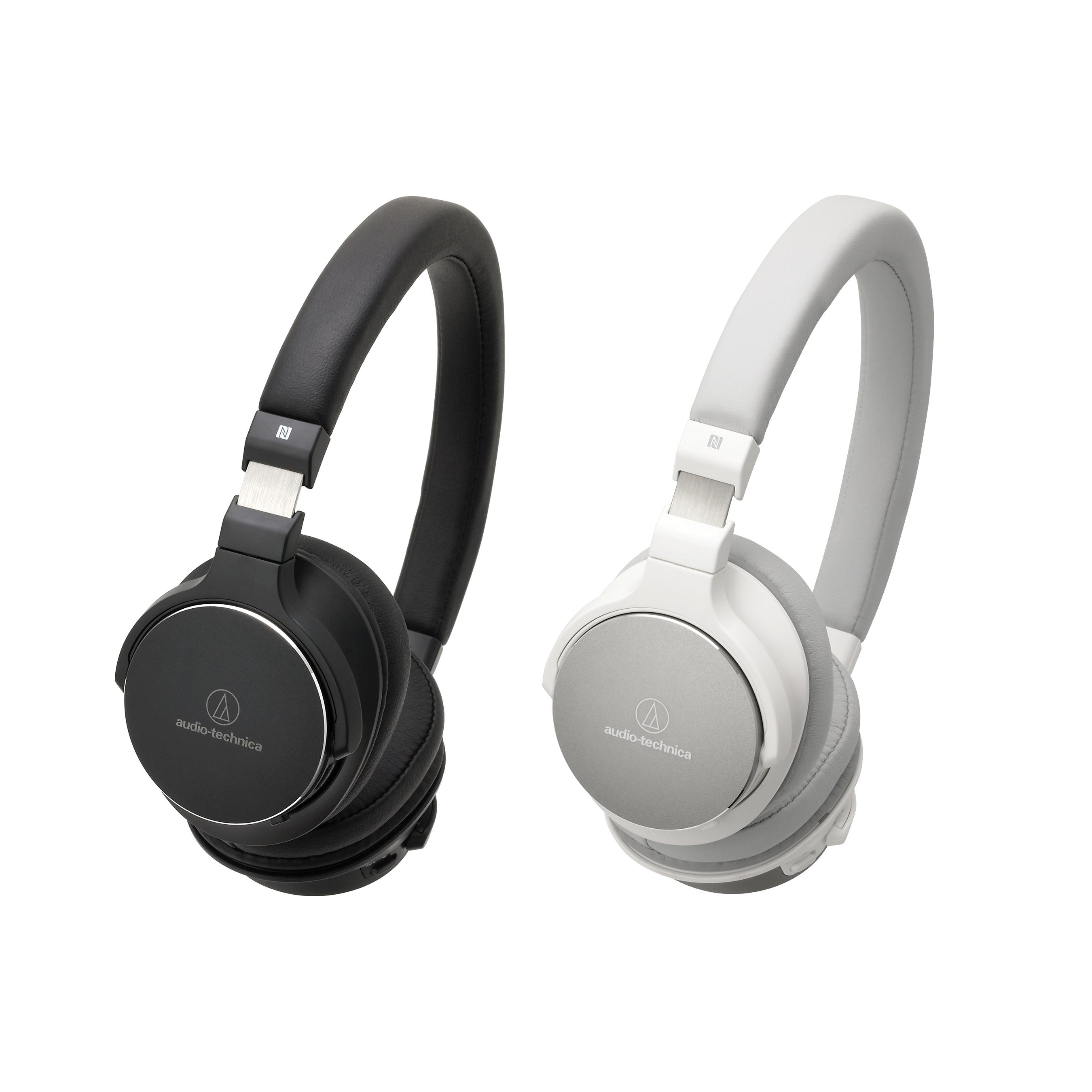 audio technica ath sr5bt hi res bluetooth headphones head. Black Bedroom Furniture Sets. Home Design Ideas