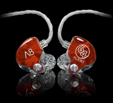 1964 Audio A8 Custom IEM