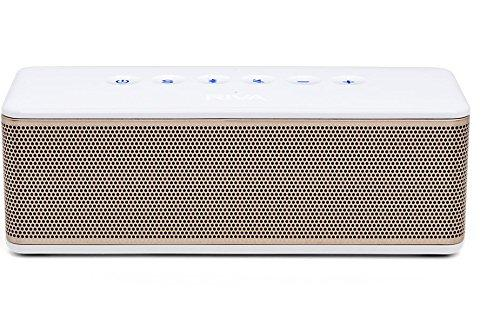 RIVA S Premium Wireless Bluetooth Speaker (White/Gold)