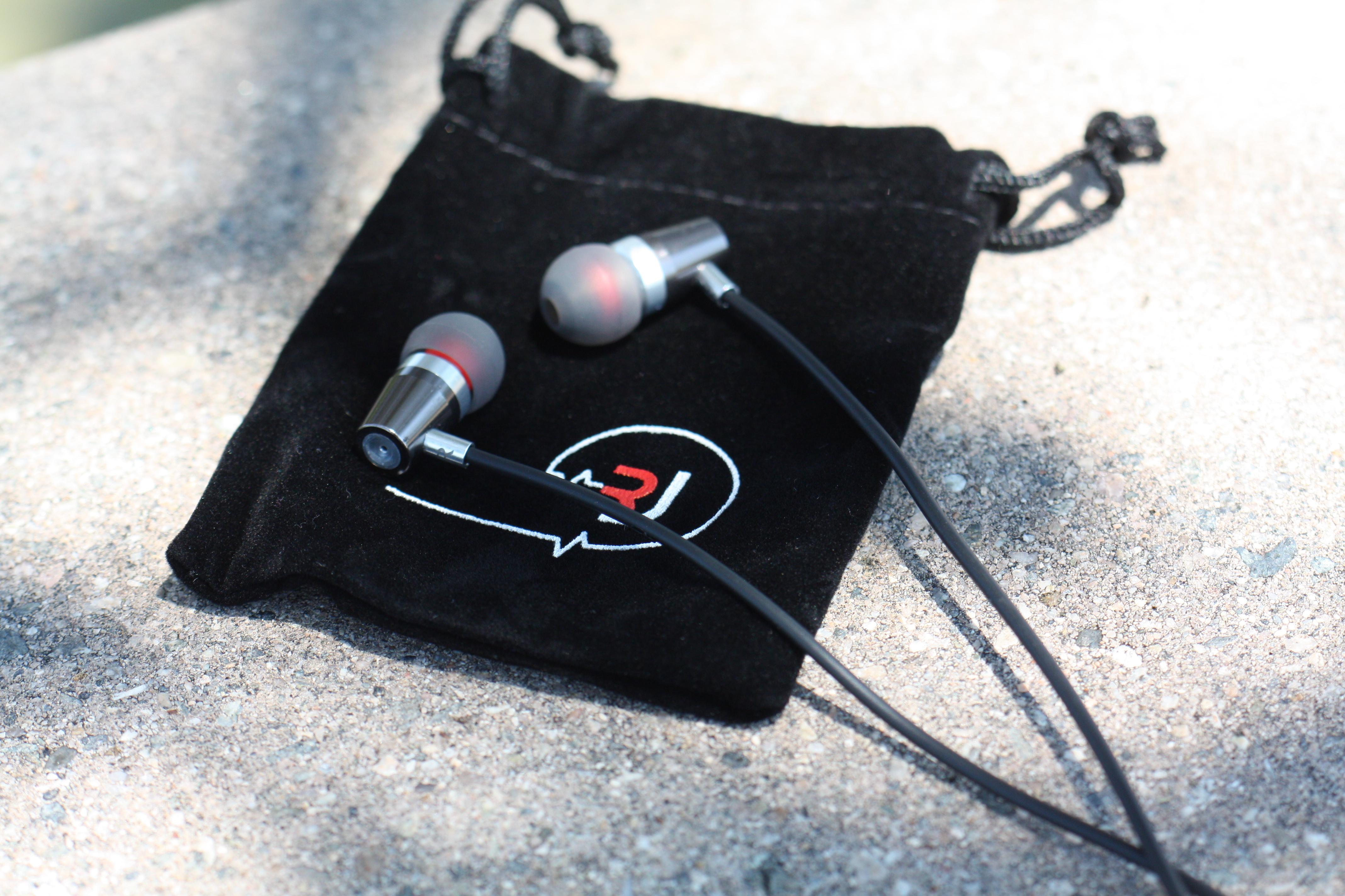 Rock Jaw Alfa Genus V2 Earphones with In-Line Mic & 3x