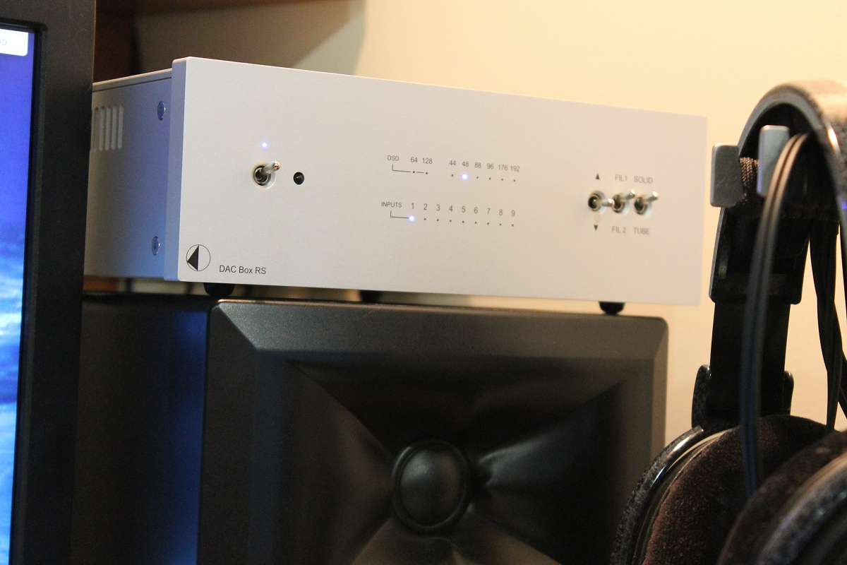 Pro Ject Audio Dac Box Rs Reviews Headphone And Abx Double Blind Tester Dboxrs11