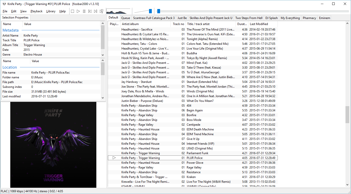 Foobar 2000 Screenshot Thread | Page 31 | Headphone Reviews and