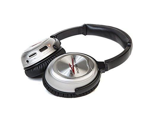 Solitude XCS2 Dual Driver, 4 Speaker Active Noise Canceling Headphones