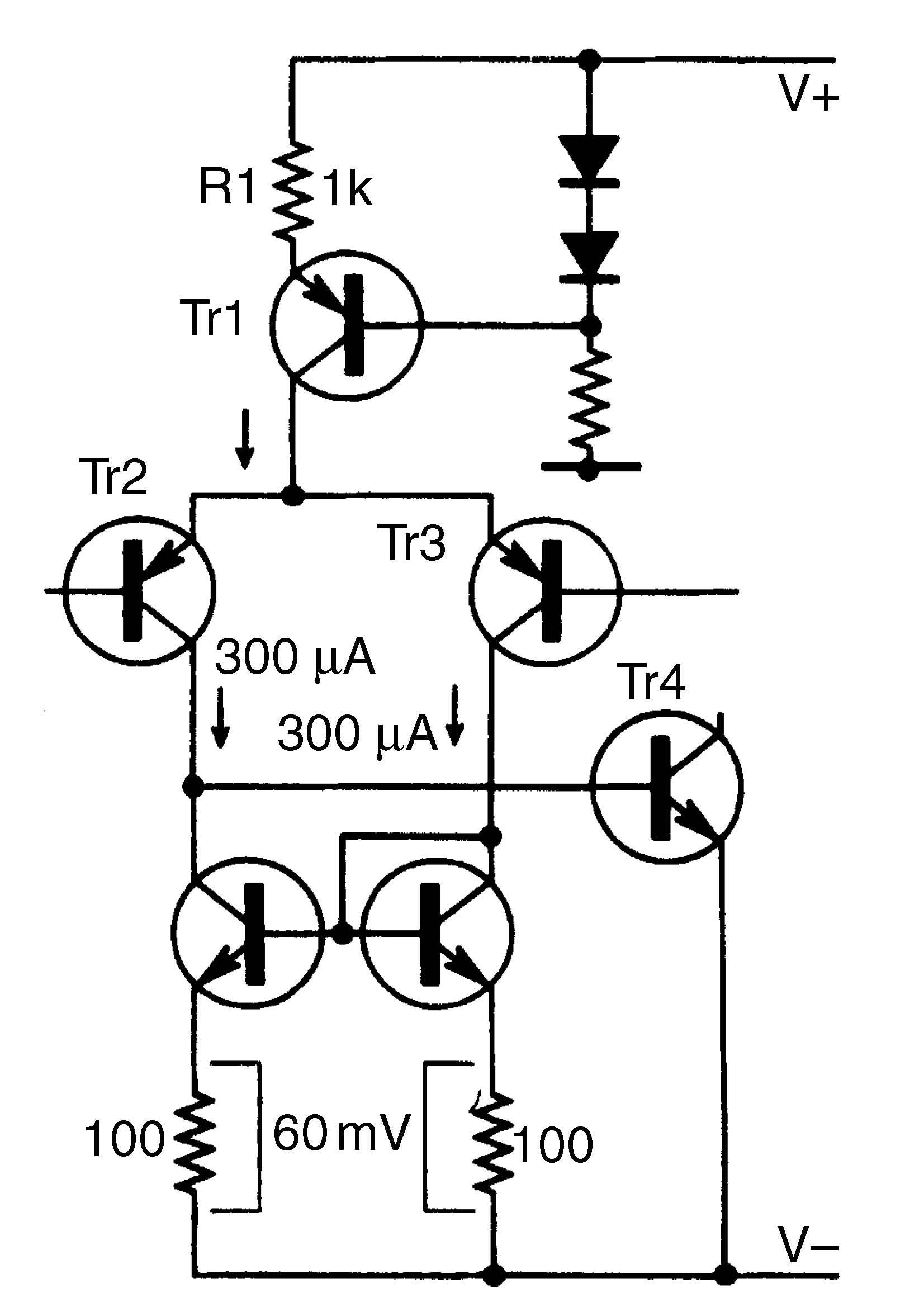 current mirror circuit norton op amp