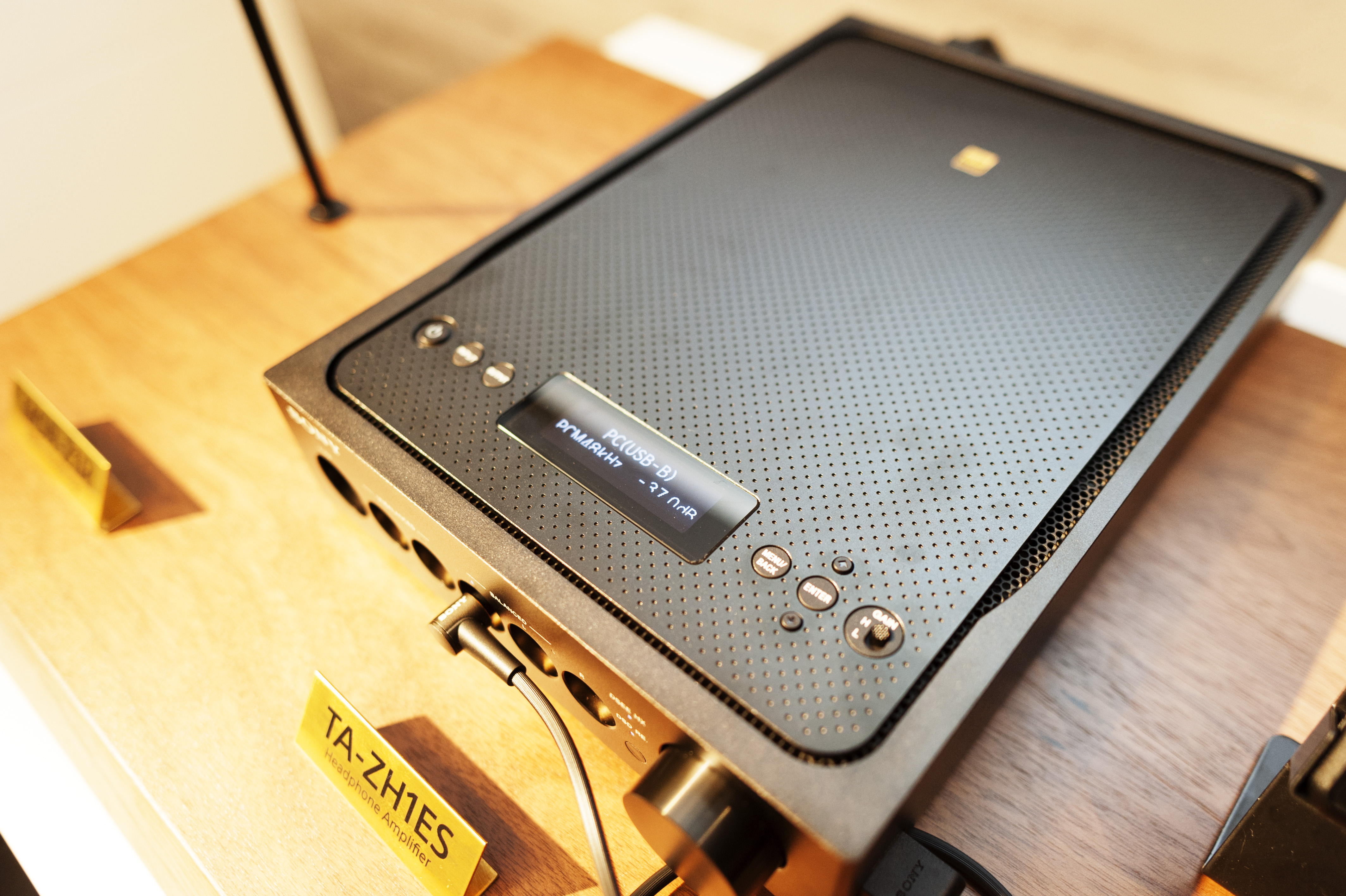 The Official Sony TA-ZH1ES Hi-Res Headphone Amplifier (Live