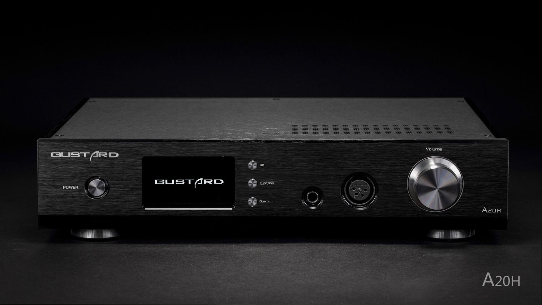 Gustard A20H DAC (Dual AK4497EQ, analog preamp, headphone amp, all