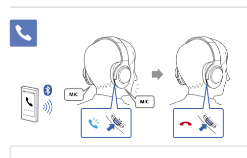sony mdr 1000x instructions