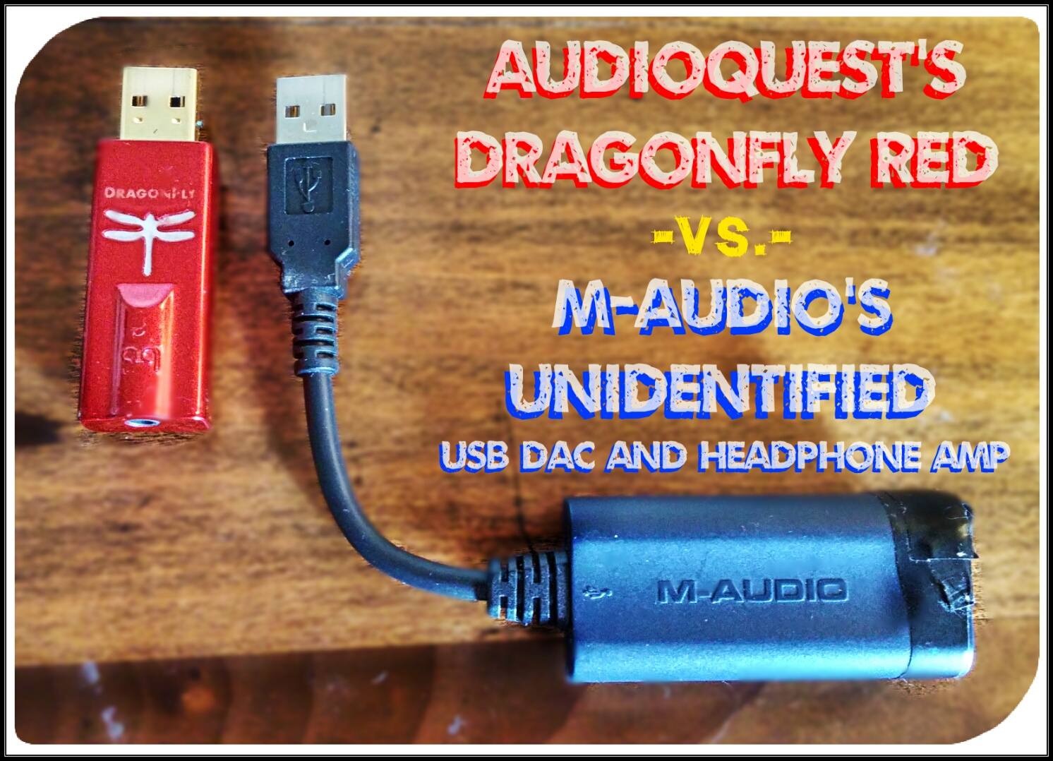 Head to head, dongle to dongle: Audioquest's Dragonfly Red