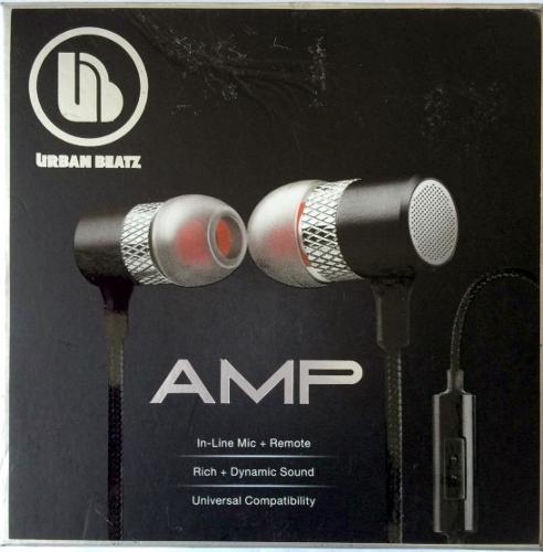 Urban Beatz Amp Earbuds