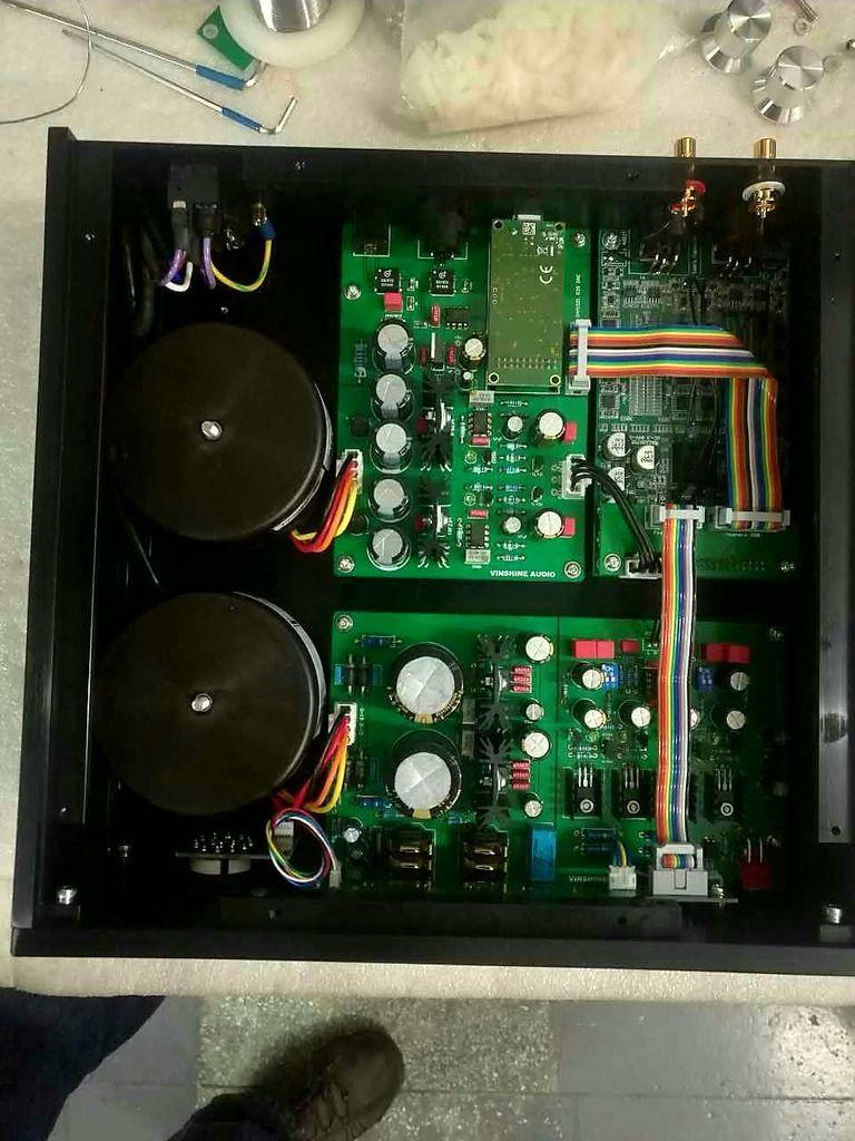 Vinshine Audio DAC R2R-REF w/ soekris | Headphone Reviews