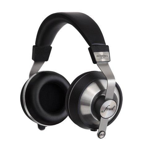 Final Audio Design Pandora Hope VI Dynamic Driver Over-Ear Headphones (Black)