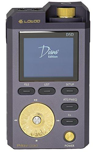 LOTOO Paw Gold Diana Edition High-Power Portable Music Player 256 GB with Music Samplers
