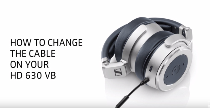 How to change the cable on your Sennheiser HD 630VB