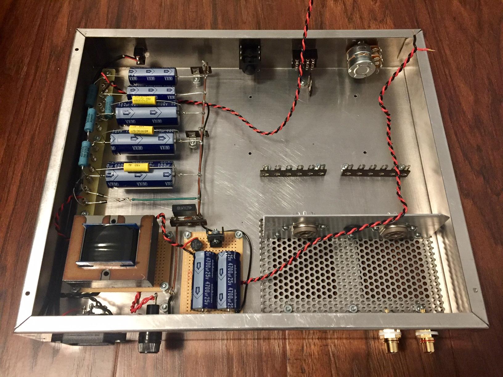 Bruce Heran 6DJ8 Headwatt Amp Build | Headphone Reviews and