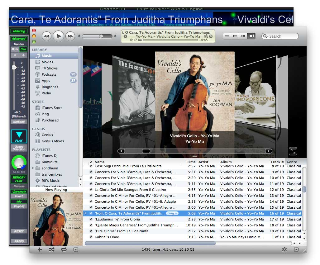 Mac OS X Music Players - alternatives to iTunes   Page 224