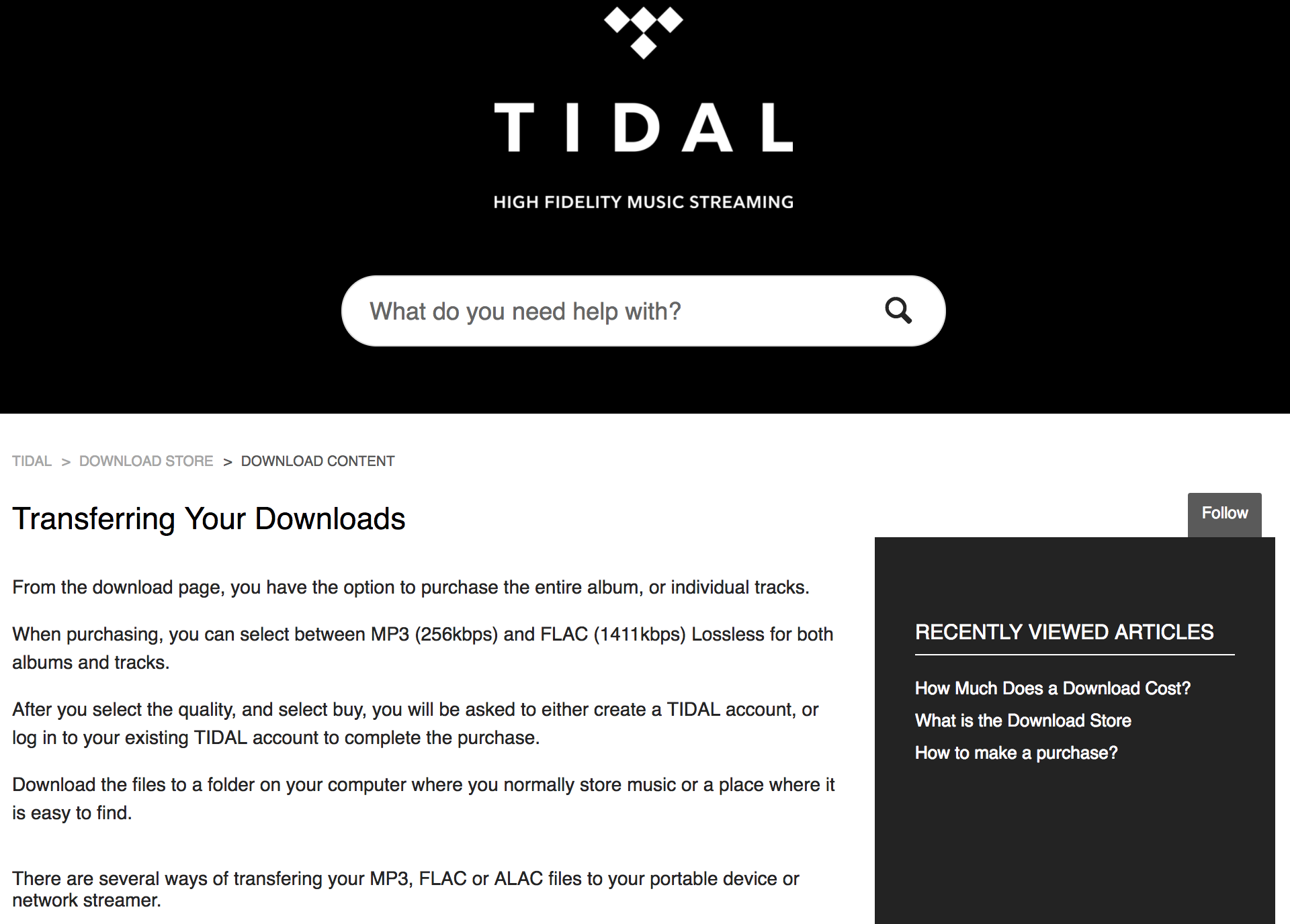 Tidal Lossless Streaming | Page 217 | Headphone Reviews and