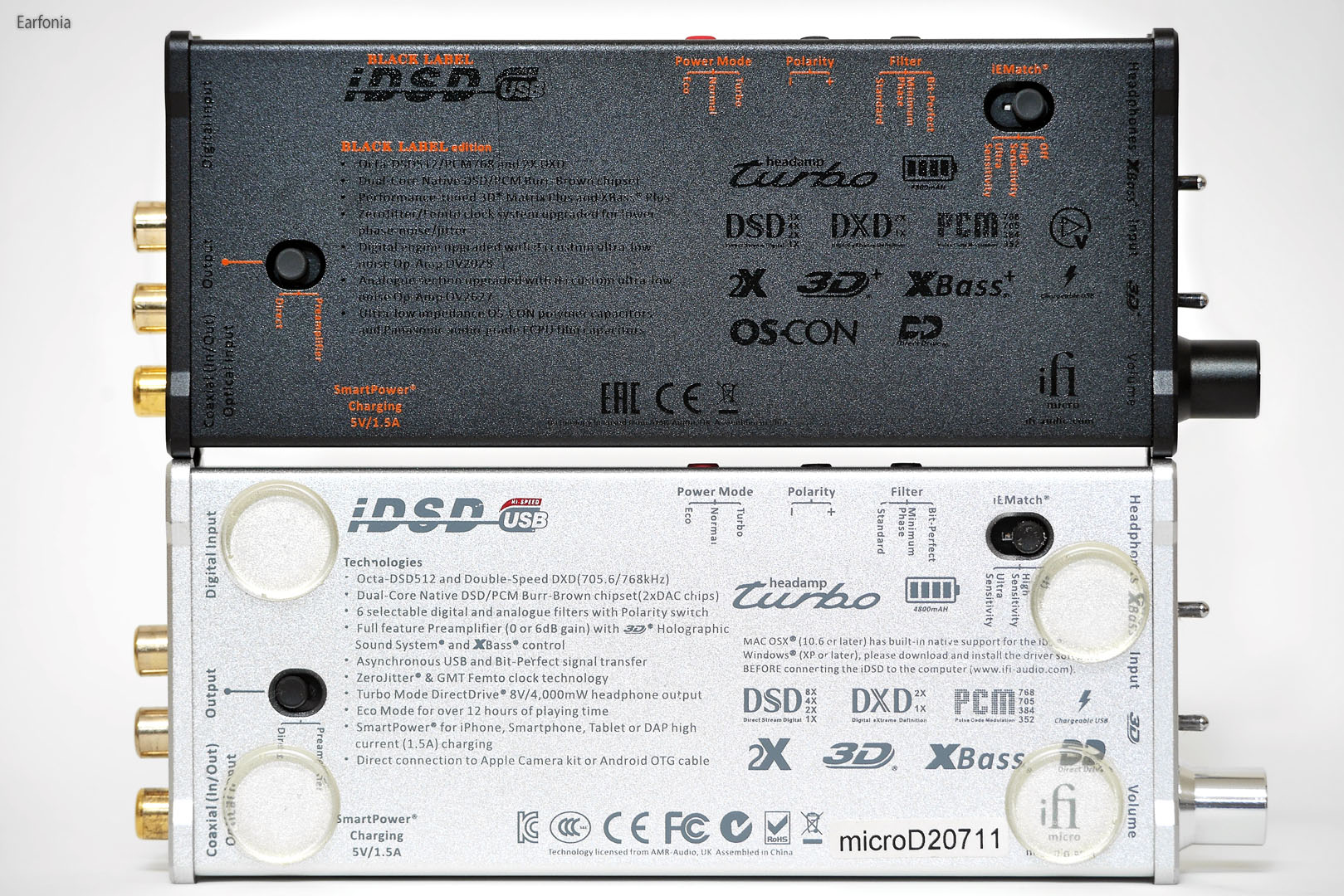 Ifi Micro Idsd Black Label In Depth Review Headphone Reviews And Log On Otg Usb Lo 28 Gold Some Of The Improvements Version Are Electronic Components Power Sections Clock System Other Improvement Both