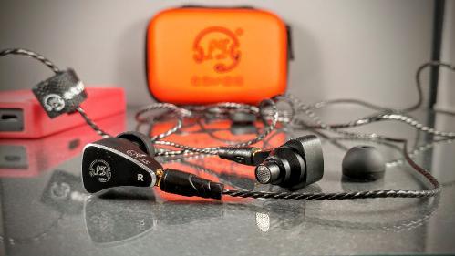 LZ-A3S hybrid in-ear monitor