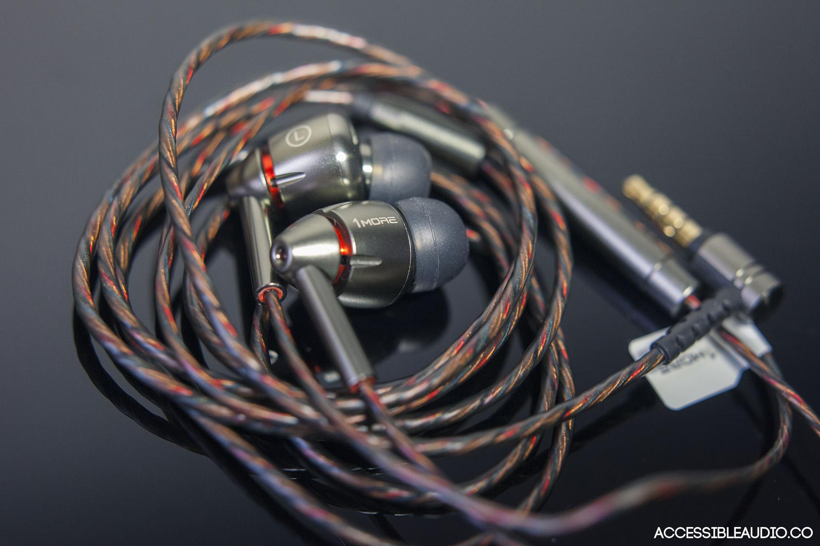 Análisis 1More Quad Driver E1010 Auriculares con cable