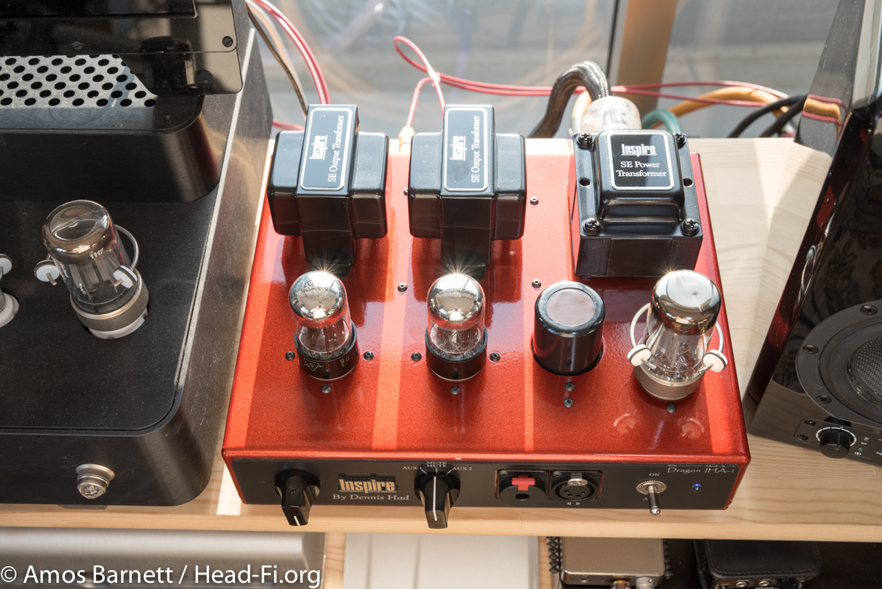 Inspire By Dennis Had Iha 1 Dragon Version Reviews Headphone The Configuration Is Classic Tube Power Supply 5y3 Rectifier D75 6591