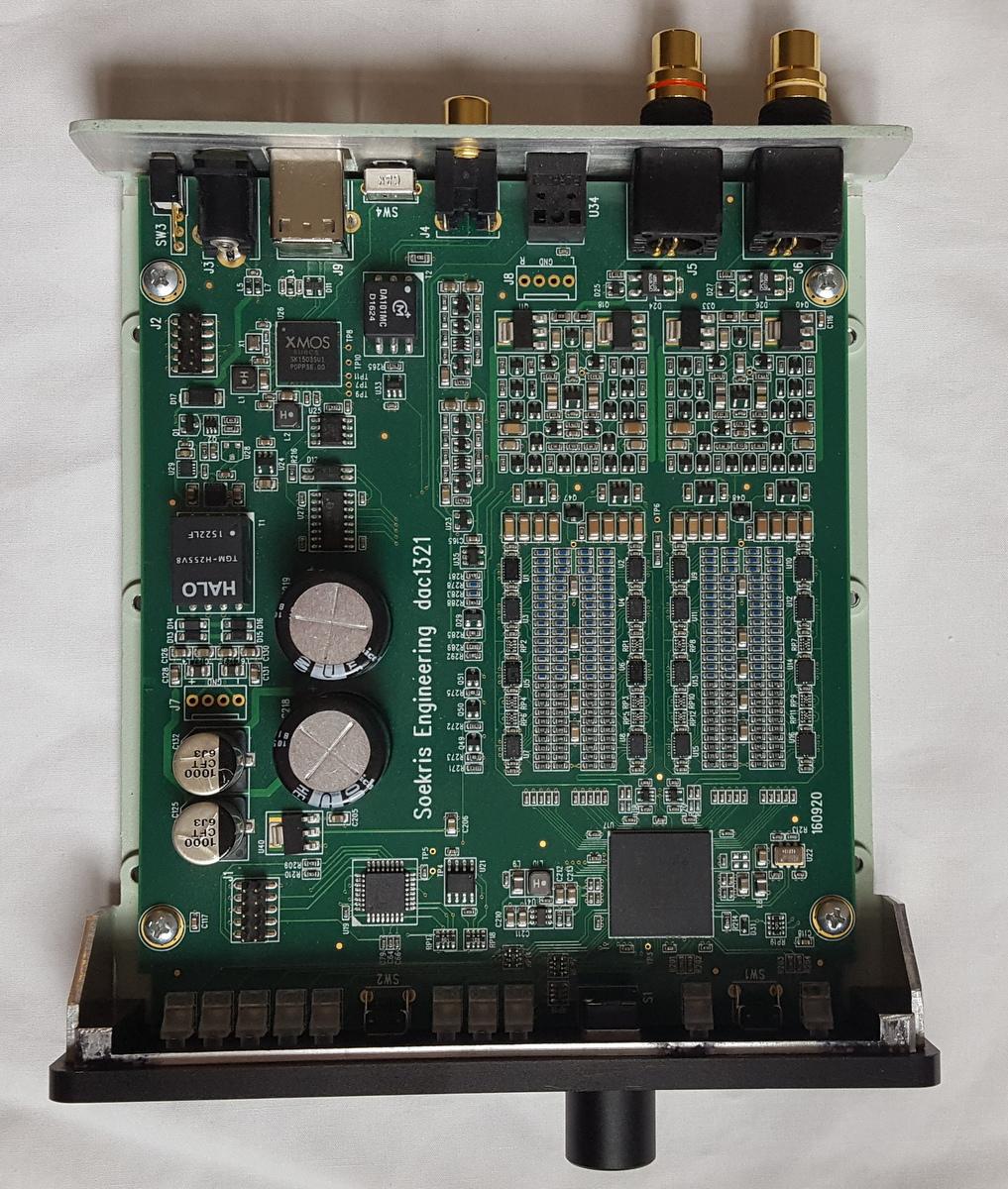 The Soekris R-2R DAC: Technical Details
