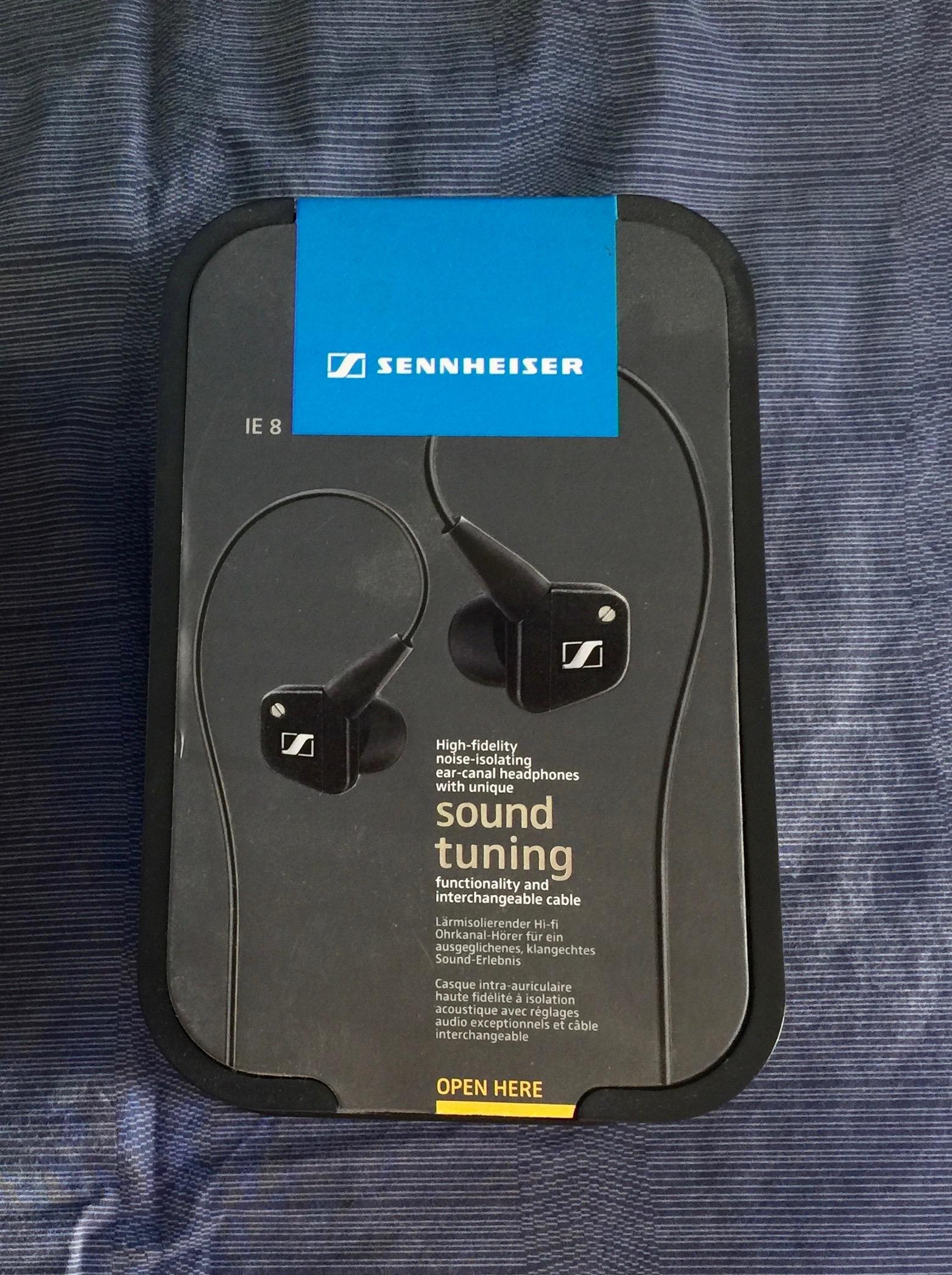 Sennheiser Ie 8 Earphones Iems Price Lowered Headphone Reviews