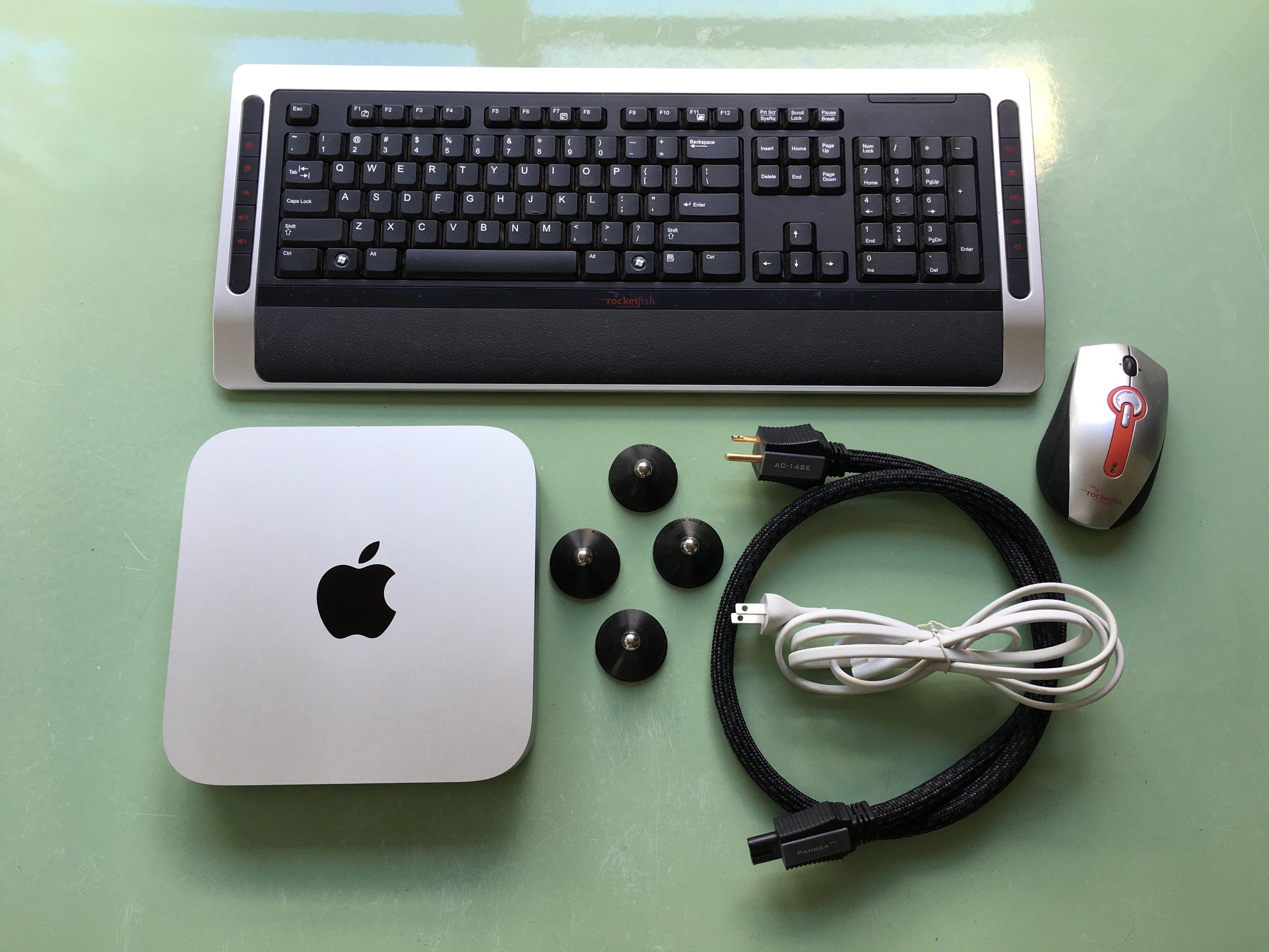 OLD: Mac Mini 2011, 8gb memory, HDD w/ 330 gb music, Pangea pc, HQ