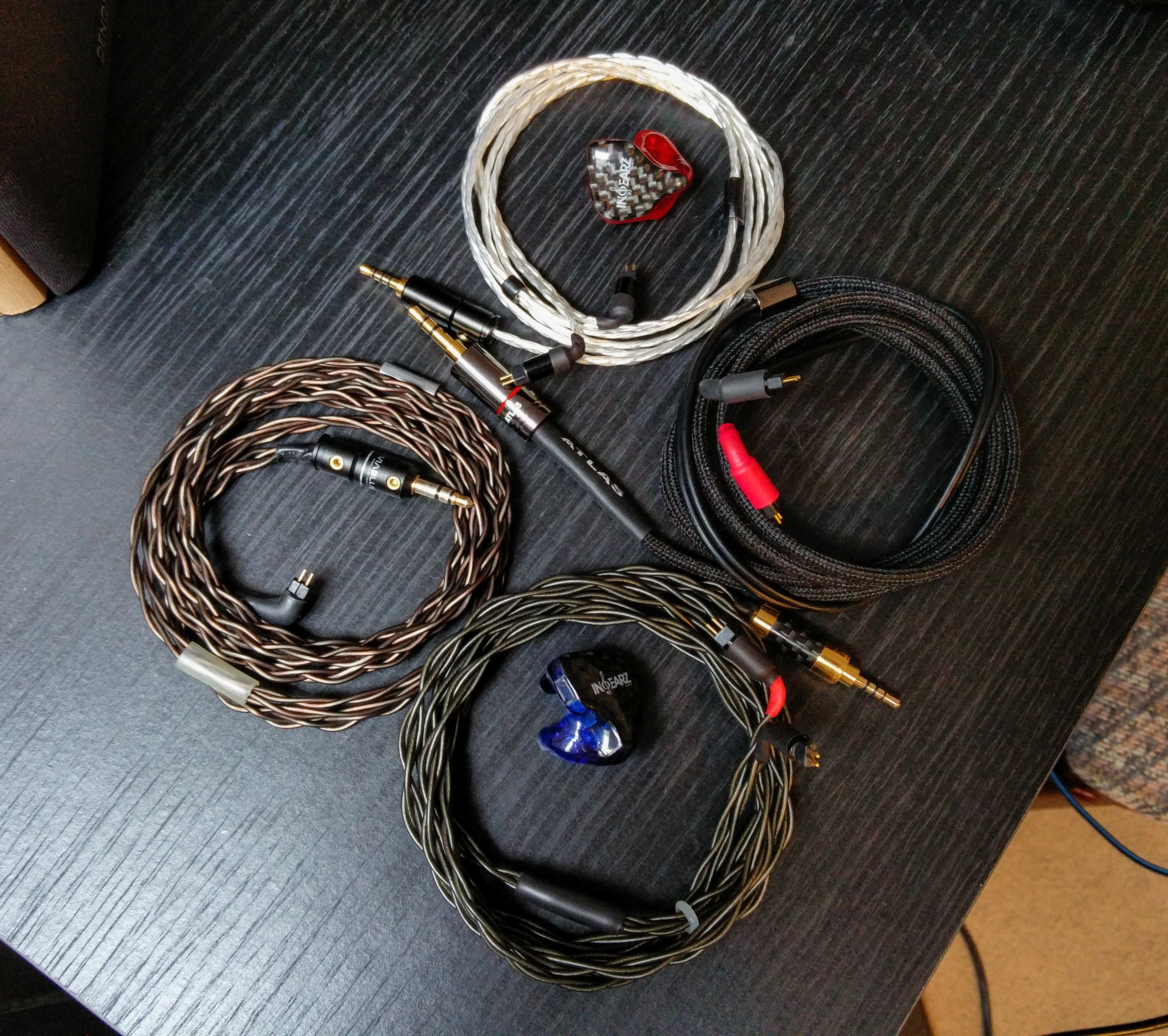 High end (IEM) cable thread: impressions, pics, comparisons and ...