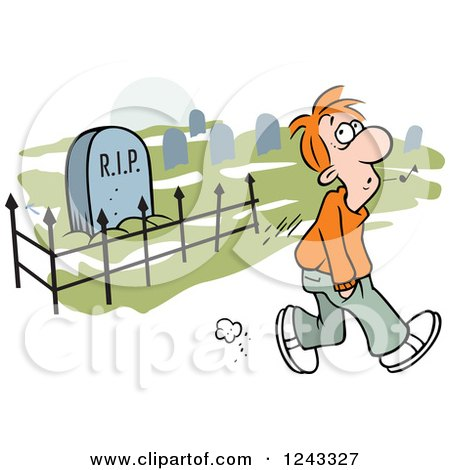 Man-Whistling-While-Walking-Past-A-Graveyard-Royalty-Free-Vector-Illustration.jpg