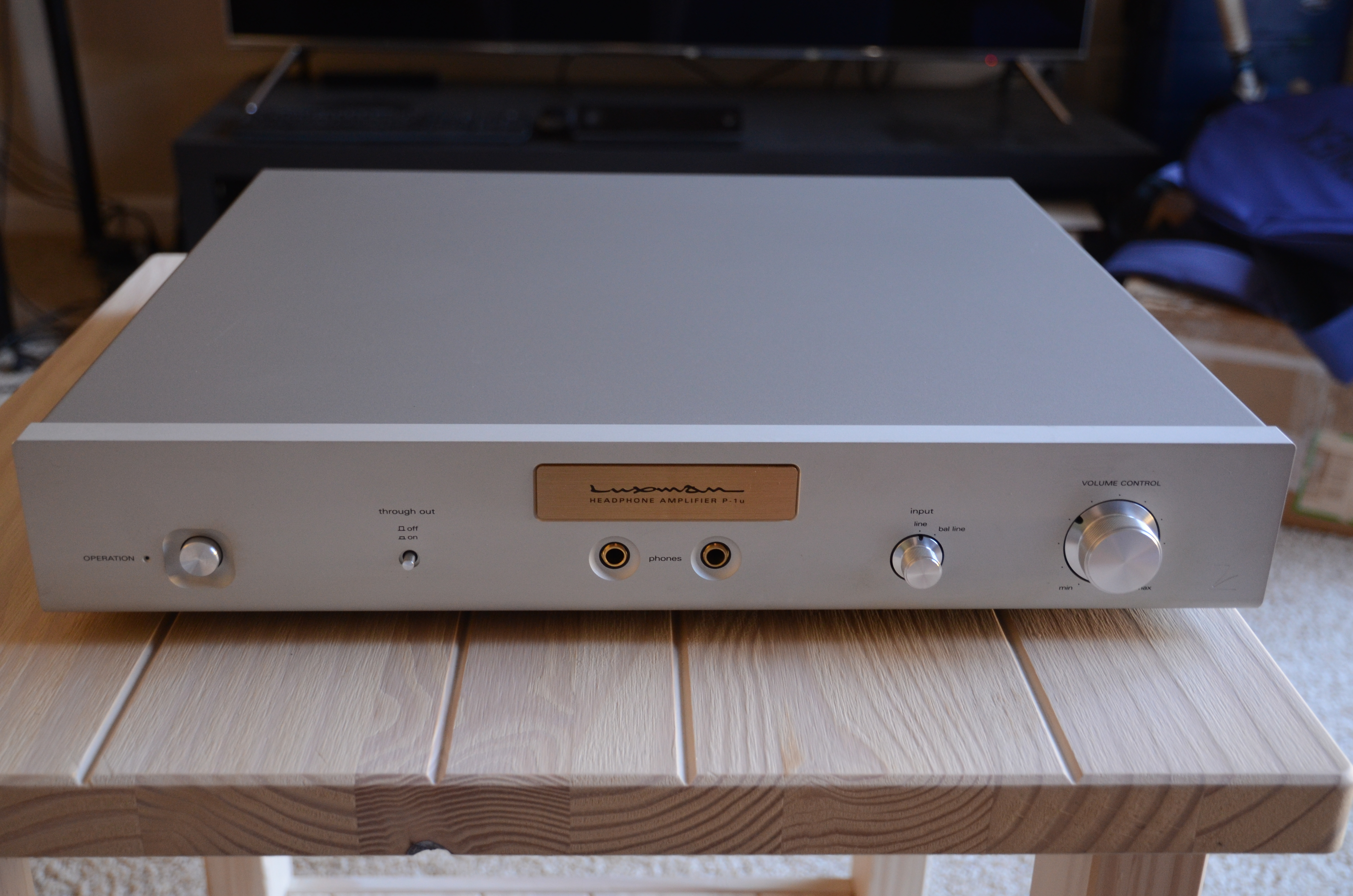 Luxman P-1u Headphone Amplifier (100V version) | Headphone
