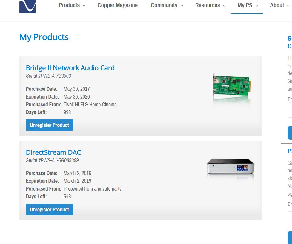 FS: PS Audio DirectStream DAC with Bridge 2 - MQA and Roon