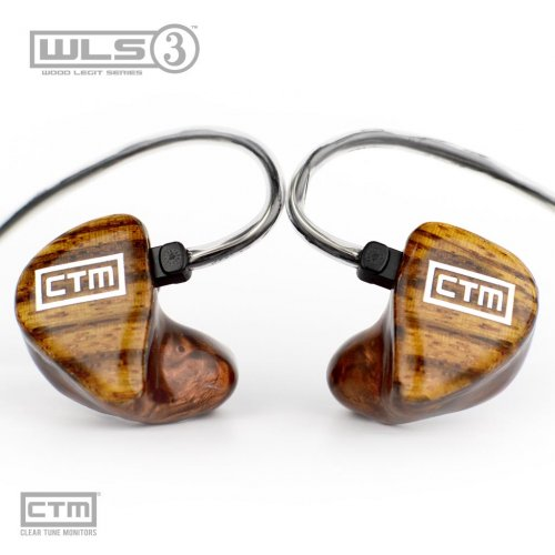 Wood Legit Series WLS-3 by Clear Tune Monitors