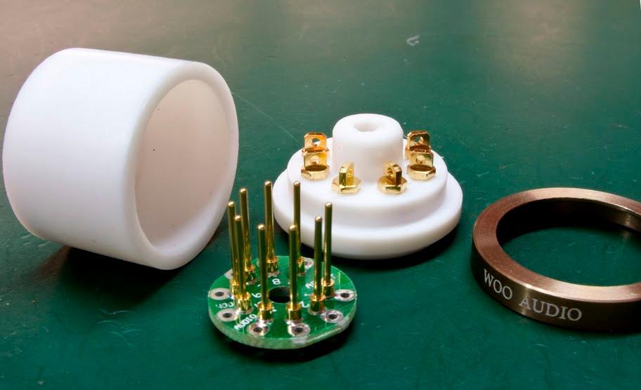 9-pin to Lokctal tube adapter.