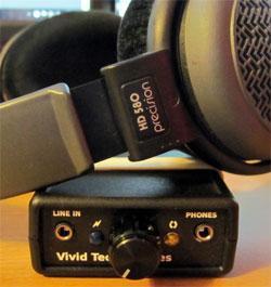 Sennheiser HD580 + Vivid Tech V1