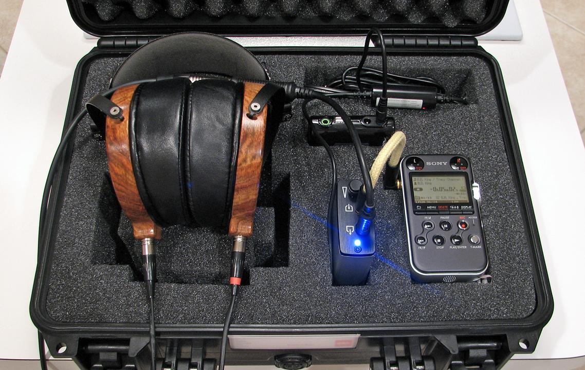 Travel rig ready for use