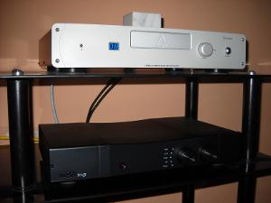Leema Acoustics Stream 2 CD player & Rega Brio3 speakers amplifier